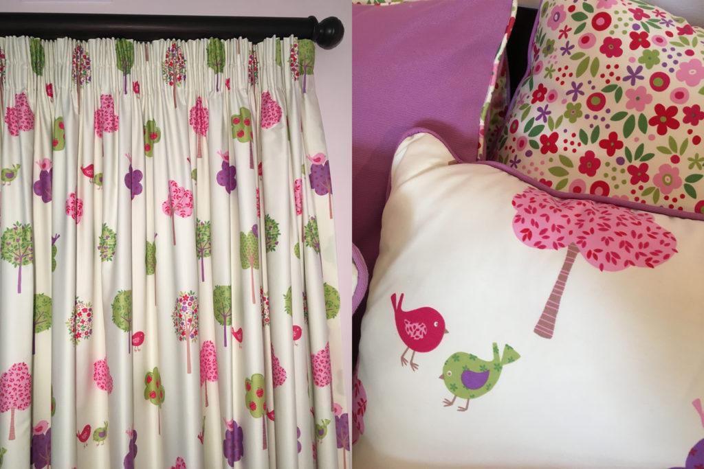 Curtains-cushions