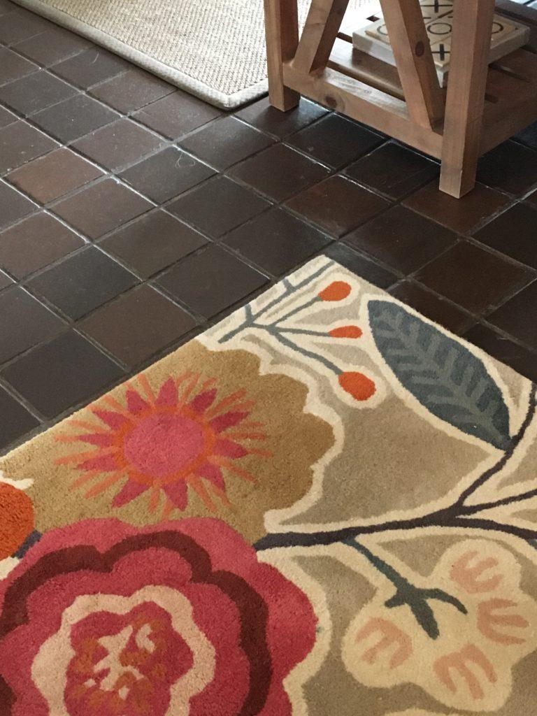 Harlequin wool rug and Hertex sisal rug
